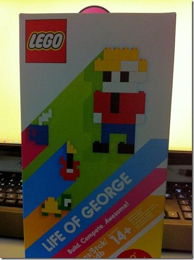 LEGOとiPhoneの融合「Life of George」を買ってみた!