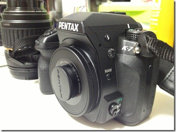 PENTAX ビスケットレンズ DA40F2.8XSを買ってみました