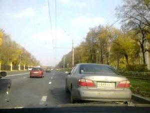 ロシアでは馬が道路に飛び出すので注意して下さい