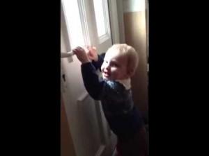 もうやめて!! 子どもを激しくしかる父ちゃんを止める勇敢なニャンコ