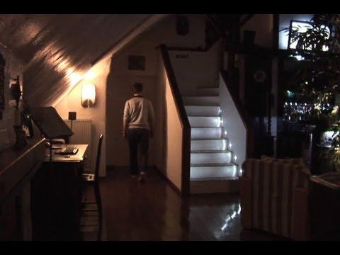 インタラクティブ階段照明