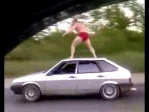 ロシアのトラック野郎のテクニックΣ(゚Д゚)スゲェ!!
