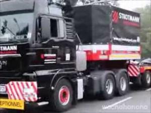 ロシアのトラックドライバーの運転技術は世界一イイイイ!!