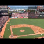 GoogleGlassと野球観戦。リアルタイムで試合状況を把握できるアイデア