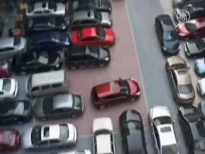 中国道でフェラーリ10台以上が事故