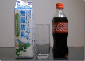 ビンに一瞬で水を入れる方法