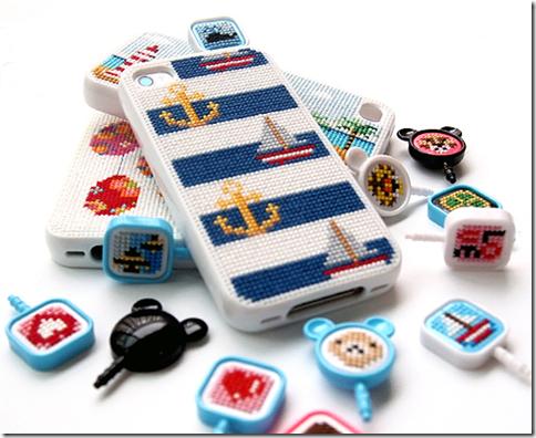 自分でデザインする刺繍iPhoneケース