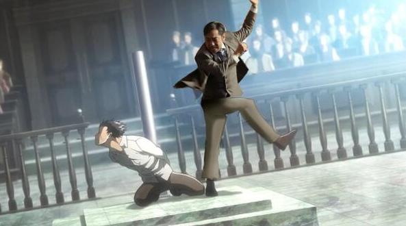 エレンが大和田常務に蹴られた時の画像下さい