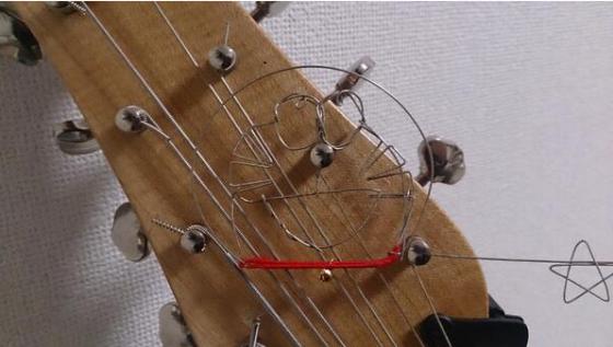 弦切れてムシャクシャしたのでドラえもん作ってみた。