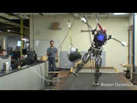 驚異の平衡感覚を持つロボAtlasをアップデート。ASIMO負けるな!