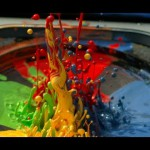 スピーカー + ペンキ X スローモーションで幻想的な映像を撮ってみた