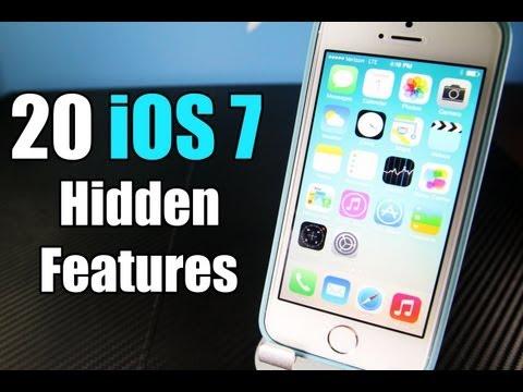 iOS7に隠された20の技を紹介する動画