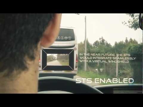 これは画期的!!バスの追い越しが簡単・安全に出来るシステム