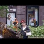 おそロシアな街路樹伐採作業