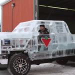 氷のスケルトントラックを作ってみたよ