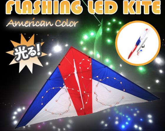 Flashing LED Kite