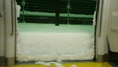 ランボルギーニガヤルドがスキー場を爆走!!