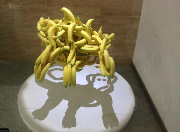 バナナとサル