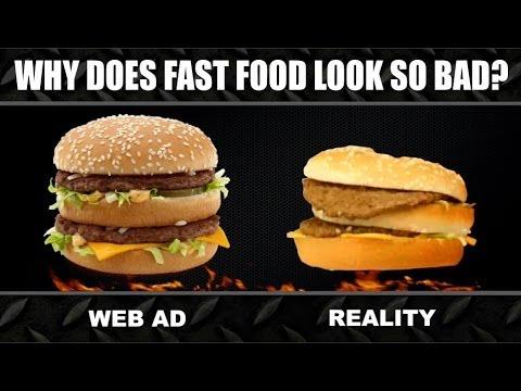 注文したハンバーガーが写真と違うので作り直してもらったよ。各社比較動画