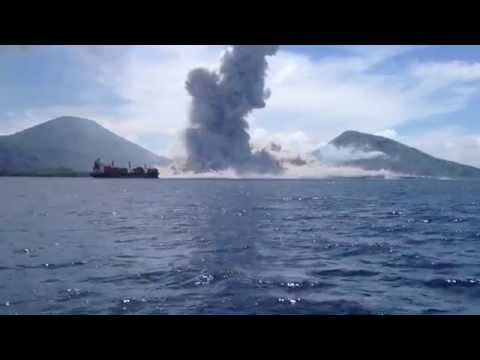 火口をGoProで撮影、この迫力は人生観変わるな!