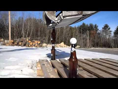 液体窒素に熱湯を注いて作るインスタント・クラウド!!