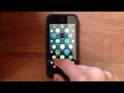 Apple Watch風のUIをiPhoneで再現してみた