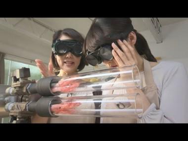ハサミを使わずヒモを切る方法