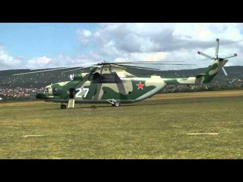 世界一でかいヘリコプターのテイクオフ!