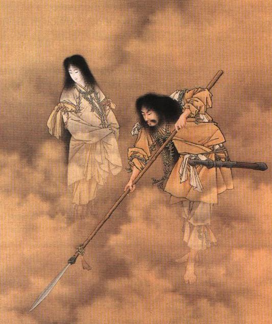 日本の神、イザナミの死因www ほか