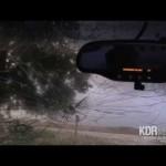 巨大な雹が降っても運転し続けた結果・・・