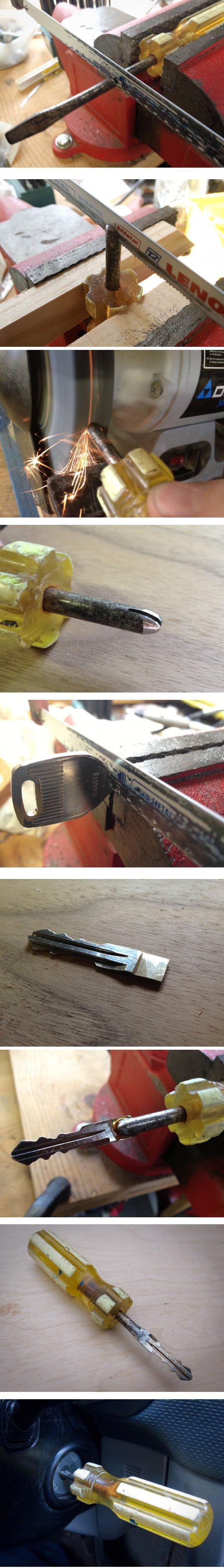 すっごい紛らわしい車のキーを作ってみたよ