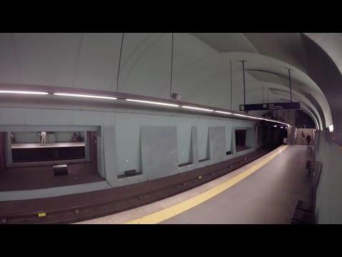 フォルクスワーゲンが地下鉄に仕掛けたCMが面白い