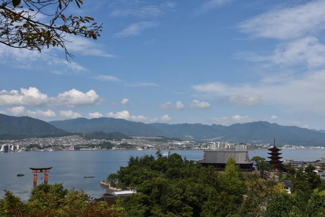 シルバーウィークは広島へ、世界遺産と瀬戸内海を満喫!