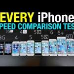 初代iPhoneからiPhone6s+まで徹底比較、結構驚く結果に
