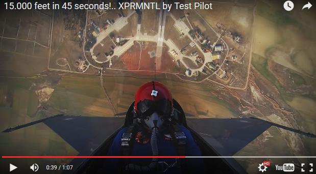 わずか数秒で15,000フィート上空へ脱出する方法!! 急上昇映像!!