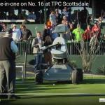 ロボットのゴルファーがなんとホールインワン!!衝撃の瞬間w