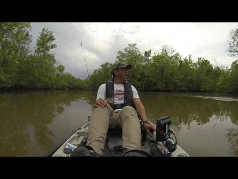 川で大物をゲットー と思いきや・・・