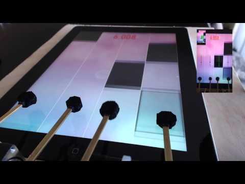ゲームアプリ「Piano Tiles」に特化した超絶ロボットが速い!