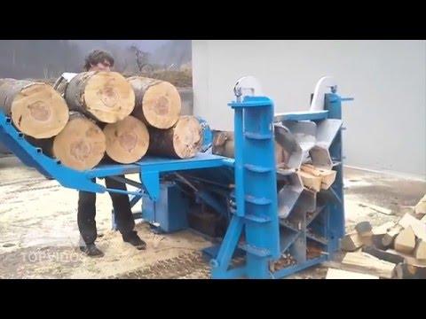薪割りマシン大集合