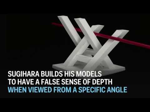 驚くべき3D錯視作品いろいろ