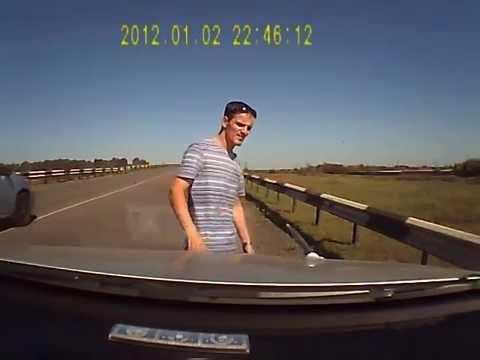 これは不可避・・・ドライブ中に発生したビックリ事象