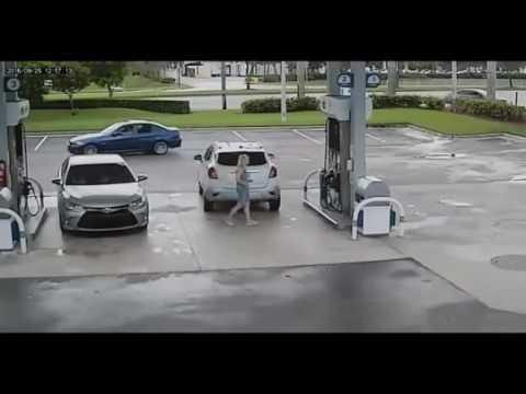 セルフのガソリンスタンドでは泥棒に狙われていると思え!