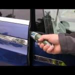 テスラ モデルXでドア挟み込みテスト、自動運転は凄いけどこちらの結果は?