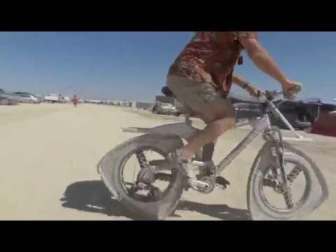 ロータリーエンジン風な自転車を開発w