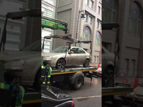 極寒の地ロシアで自動車の窓を閉め忘れると・・・