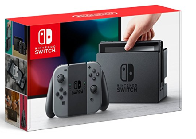 Nintendo Switch、Amazonで予約開始!!