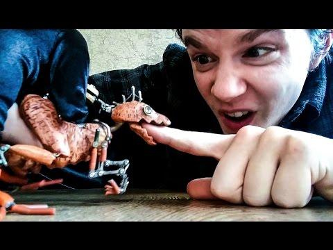 恐竜の操り人形の完成度が高い!!