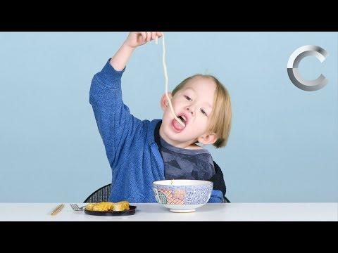 日本食を食べたアメリカの子供たち、感想をどうぞ!