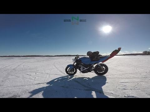 俺は倒れない・・・ まるで意思を持っているかのようなバイク