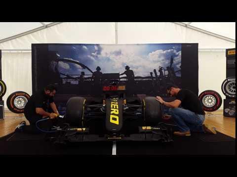 これであなたもピットクルー!F1のタイヤ交換チャレンジ・シミュレーター